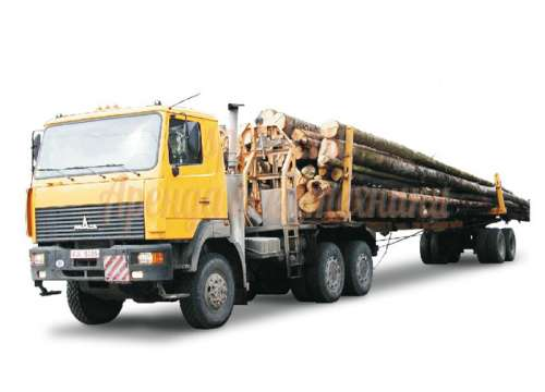 Аренда лесовоза КАМАЗ 5320
